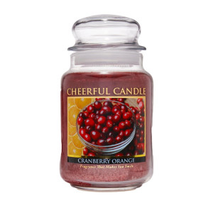 Cheerful Candle Cranberry Orange 2-Docht-Kerze 680g