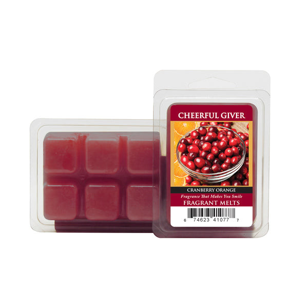 Cheerful Candle Cranberry Orange Wachsmelt 68g