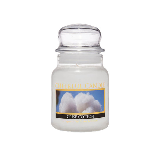 Cheerful Candle Crisp Cotton 1-Docht-Kerze 170g