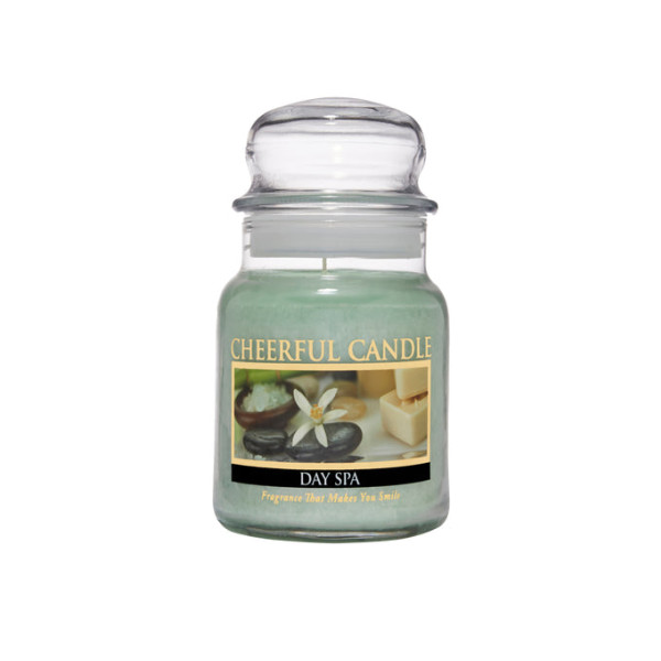 Cheerful Candle Day Spa 1-Docht-Kerze 170g