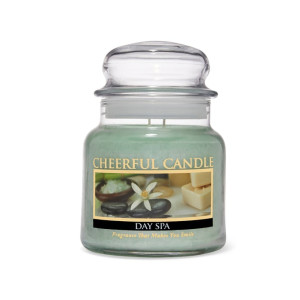 Cheerful Candle Day Spa 2-Docht-Kerze 453g