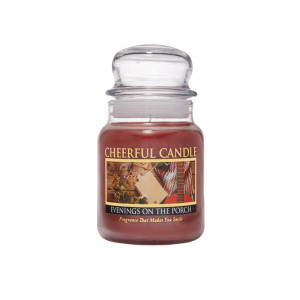 Cheerful Candle Evenings On The Porch 1-Docht-Kerze 170g