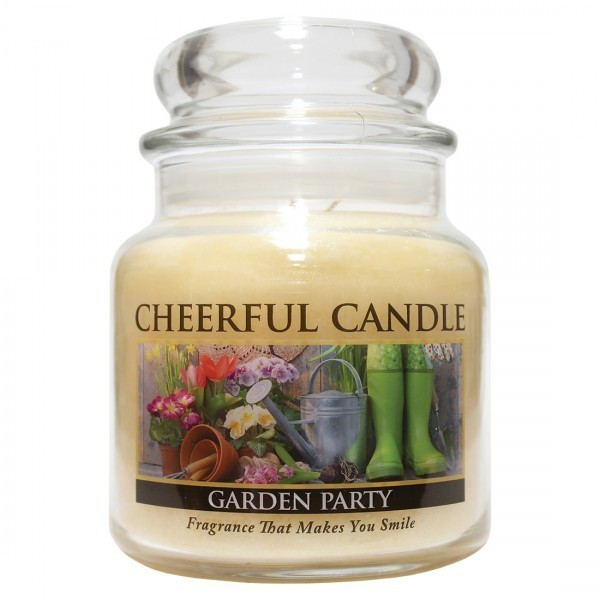Cheerful Candle Garden Party 2-Docht-Kerze 453g