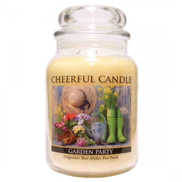 Cheerful Candle Garden Party 2-Docht-Kerze 680g