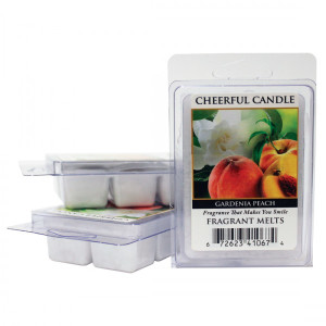 Cheerful Candle Gardenia Peach Wachsmelt 68g
