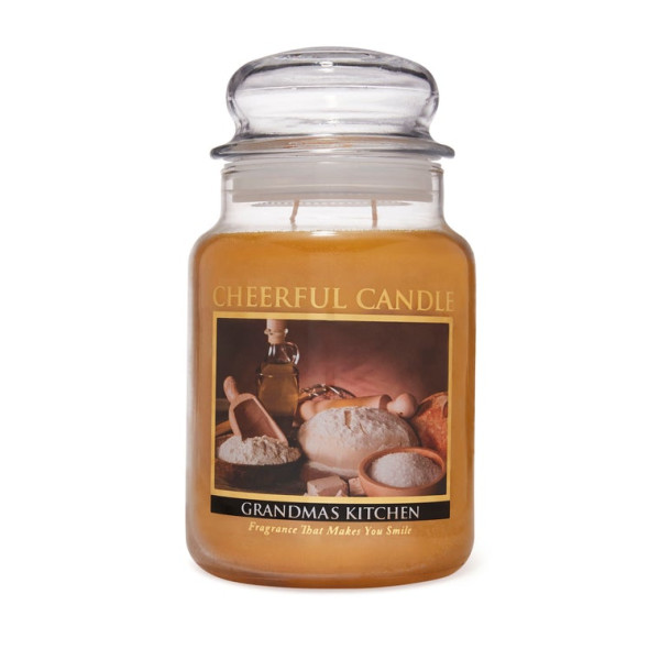 Cheerful Candle Grandmas Kitchen 2-Docht-Kerze 680g