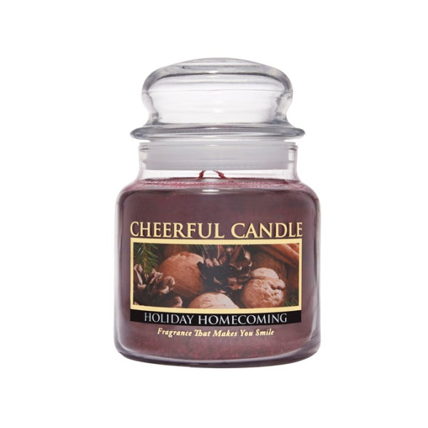 Cheerful Candle Holiday Homecoming 2-Docht-Kerze 453g