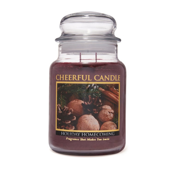 Cheerful Candle Holiday Homecoming 2-Docht-Kerze 680g