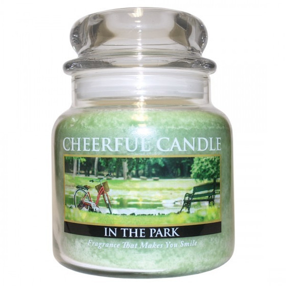 Cheerful Candle In The Park 2-Docht-Kerze 453g