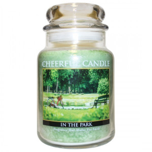 Cheerful Candle In The Park 2-Docht-Kerze 680g