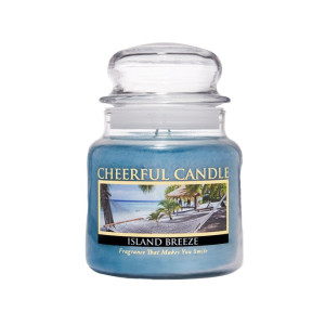 Cheerful Candle Island Breeze 2-Docht-Kerze 453g