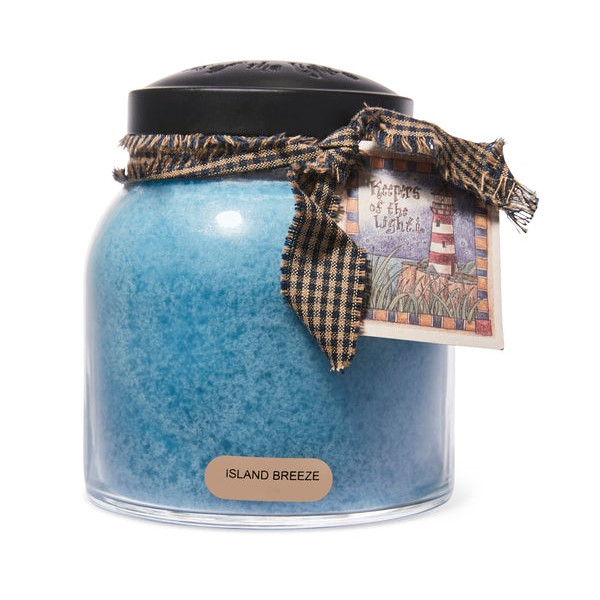 Cheerful Candle Island Breeze 2-Docht-Kerze Papa Jar 963g