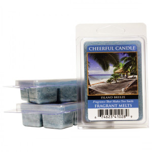 Cheerful Candle Island Breeze Wachsmelt 68g