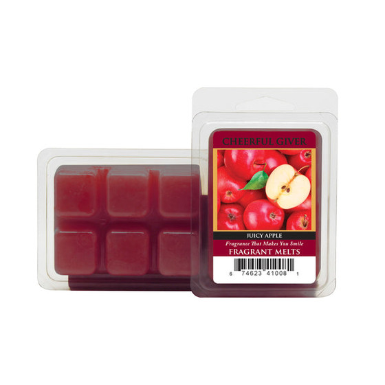 Cheerful Candle Juicy Apple Wachsmelt 68g