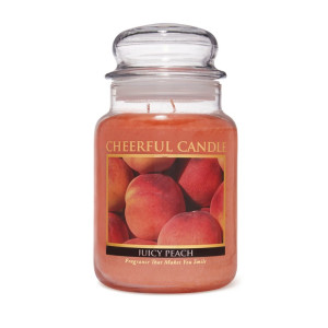 Cheerful Candle Juicy Peach 2-Docht-Kerze 680g