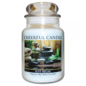 Cheerful Candle Just Relax 2-Docht-Kerze 680g