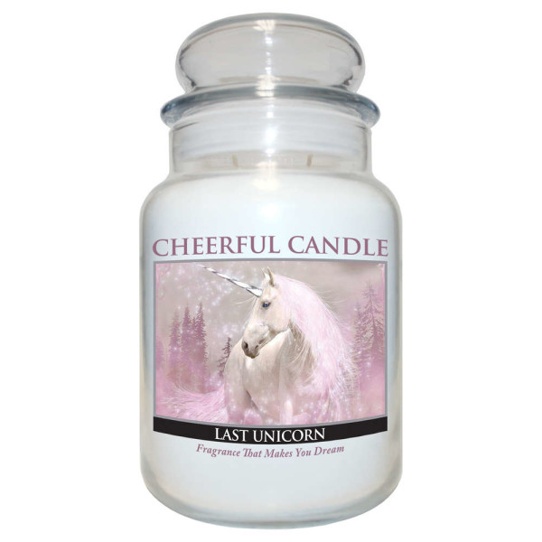 Cheerful Candle Last Unicorn 2-Docht-Kerze 680g Limited Edition
