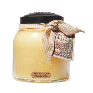 Cheerful Candle Lemon Butter Pound Cake 2-Docht-Kerze Papa Jar 963g