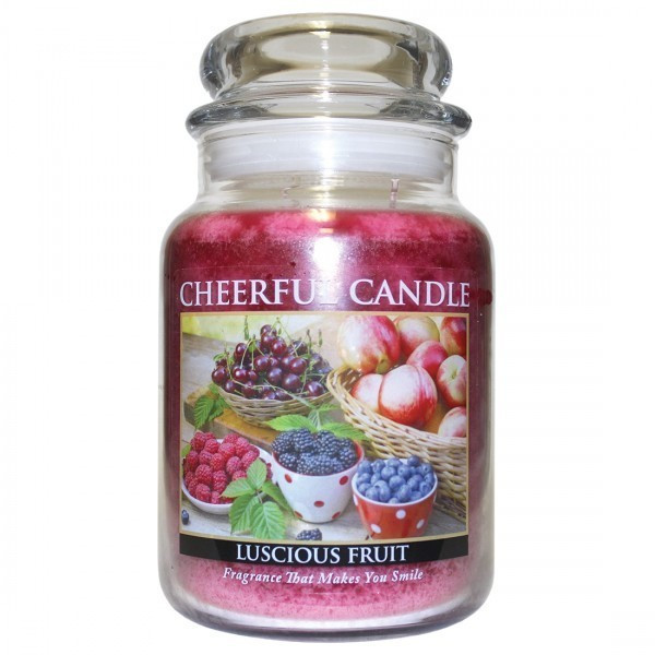 Cheerful Candle Luscious Fruit 2-Docht-Kerze 680g