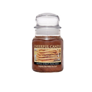 Cheerful Candle Maple Syrup Pancakes 1-Docht-Kerze 170g