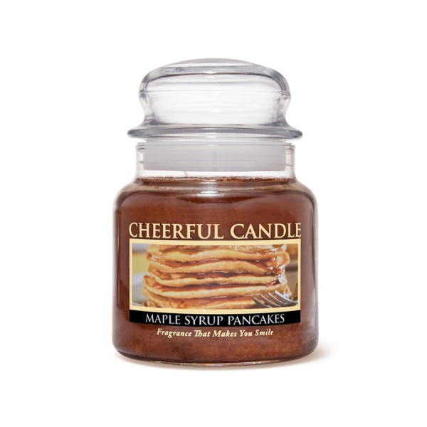 Cheerful Candle Maple Syrup Pancakes 2-Docht-Kerze 453g
