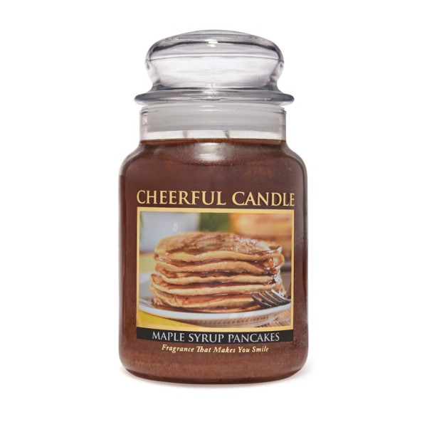 Cheerful Candle Maple Syrup Pancakes 2-Docht-Kerze 680g