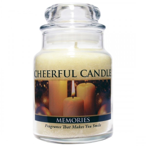 Cheerful Candle Memories 1-Docht-Kerze 170g