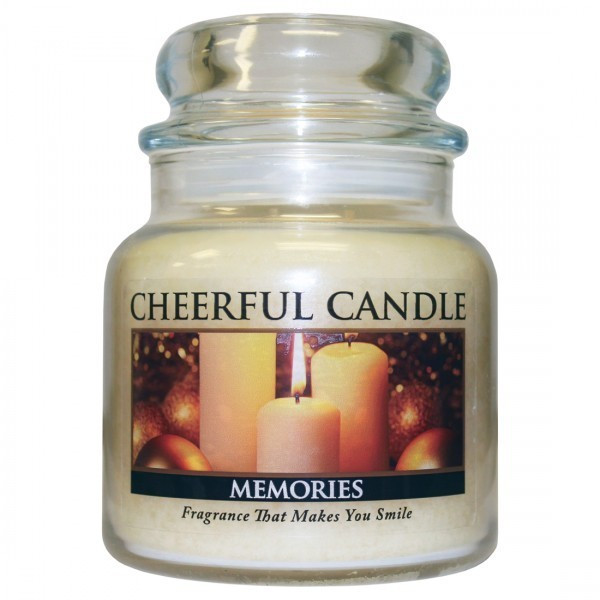 Cheerful Candle Memories 2-Docht-Kerze 453g