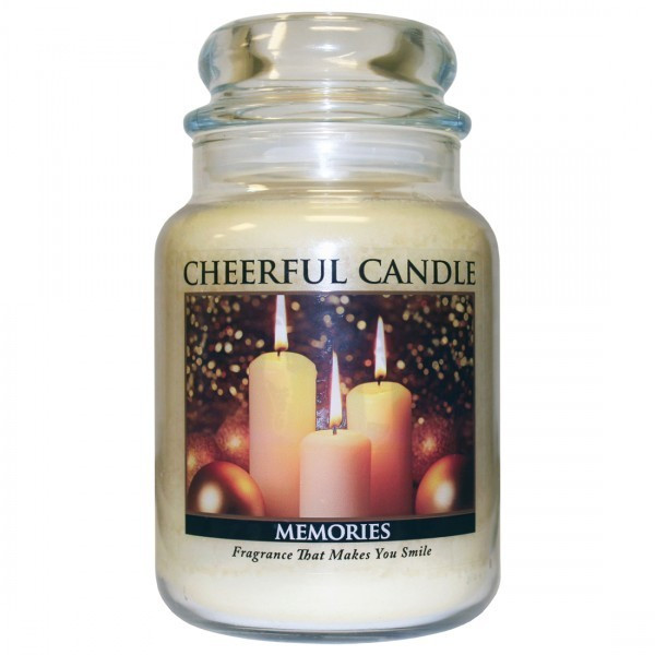 Cheerful Candle Memories 2-Docht-Kerze 680g