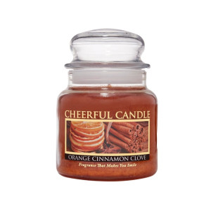 Cheerful Candle Orange Cinnamon Clove 2-Docht-Kerze 453g