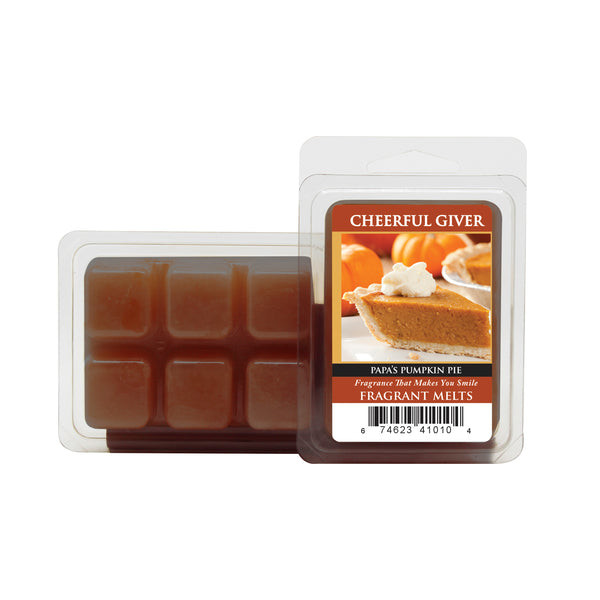 Cheerful Candle Papas Pumpkin Pie Wachsmelt 68g