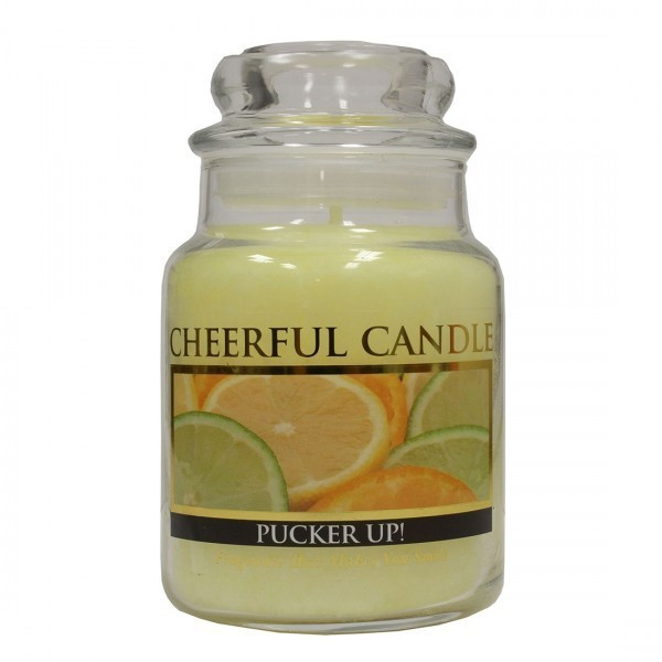 Cheerful Candle Pucker Up! 1-Docht-Kerze 170g