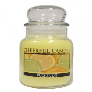 Cheerful Candle Pucker Up! 2-Docht-Kerze 453g