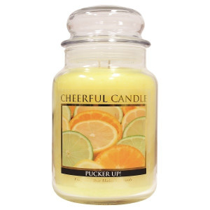 Cheerful Candle Pucker Up! 2-Docht-Kerze 680g