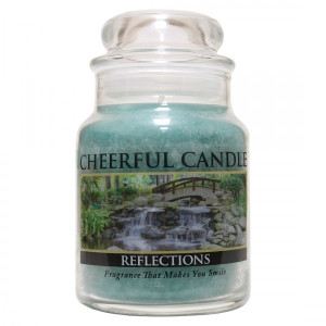 Cheerful Candle Reflections 1-Docht-Kerze 170g