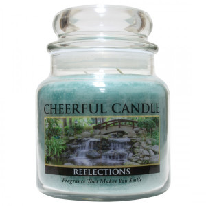 Cheerful Candle Reflections 2-Docht-Kerze 453g