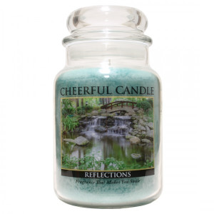 Cheerful Candle Reflections 2-Docht-Kerze 680g