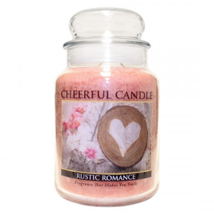 Cheerful Candle Rustic Romance 2-Docht-Kerze 680g