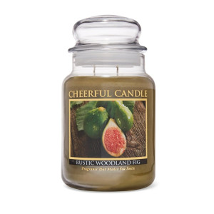 Cheerful Candle Rustic Woodland Fig 2-Docht-Kerze 680g