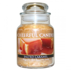 Cheerful Candle Salted Caramel 1-Docht-Kerze 170g