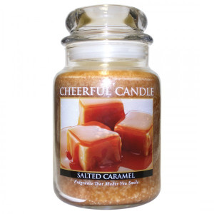 Cheerful Candle Salted Caramel 2-Docht-Kerze 680g