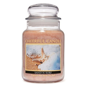 Cheerful Candle Sand N Surf 2-Docht-Kerze 680g