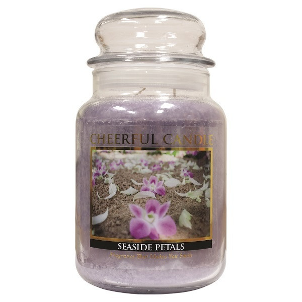 Cheerful Candle Seaside Petals 2-Docht-Kerze 680g