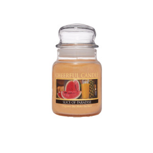 Cheerful Candle Slice Of Paradise 1-Docht-Kerze 170g