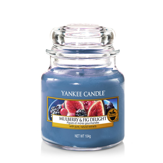 Yankee Candle® Mulberry & Fig Delight Kleines Glas 104g