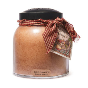 Cheerful Candle Gigi's Cinnamon Raisin Bread 2-Docht-Kerze Papa Jar 963g