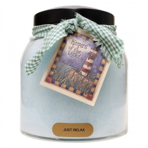 Cheerful Candle Just Relax 2-Docht-Kerze Papa Jar 963g