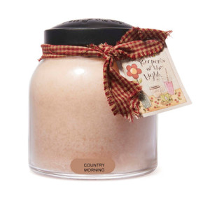 Cheerful Candle Country Morning 2-Docht-Kerze Papa Jar 963g