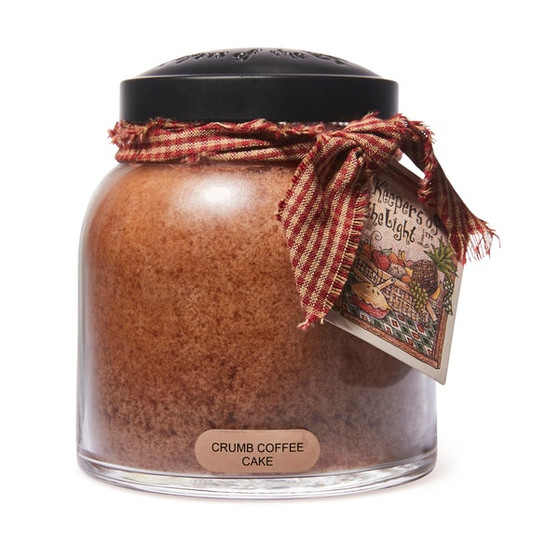 Cheerful Candle Crumb Coffee Cake 2-Docht-Kerze Papa Jar 963g
