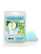 Country Candle™ Cilantro Apple & Lime Wachsmelt 64g